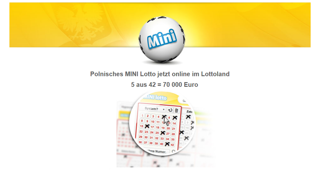 mini lotto ziehung live